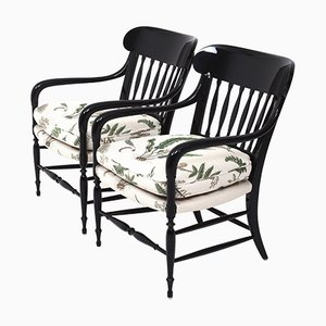 La Concha Chairs by Björn Wiinblad & Brita Drewsen for OP Möbler, Set of 2