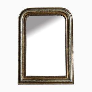 Spiegel aus Kupfer & Blattgold