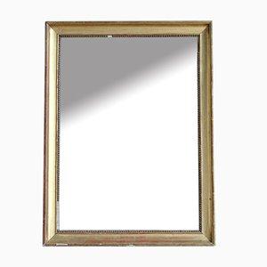 Vergoldeter Spiegel mit Fuchsglas