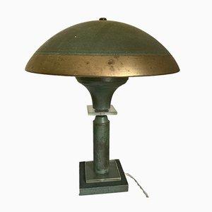 Französische Art Deco Tischlampe von Genet & Michon