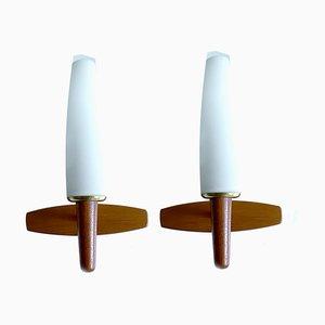 Danish Modern Sconces from Temde, Set of 2