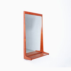 Teak 180 Spiegel von Kai Kristiansen für Aksel Kjersgaard, Denmark, 1960er