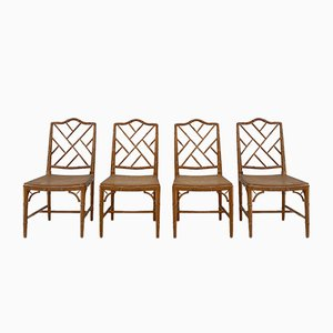 Chippendale Chairs, Set of 4