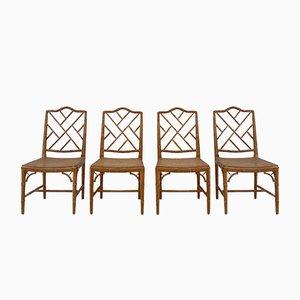 Chippendale Stühle, 4er Set