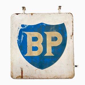 Doppelseitiges Werbeschild von BP