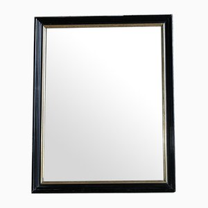 Ebonisierter und Vergoldeter Spiegel