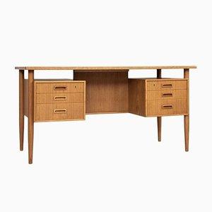 Danish Desk in Oak from FDB Møbler, 1960s
