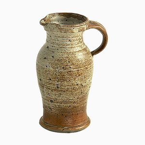 Krug aus Steingut Keramik, Frankreich, 1960er