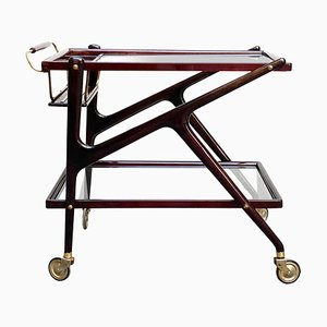 Ico Parisi Trolley Bar from Cesare Lacca, Italy 1960s