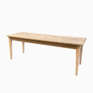Farm Table with Spindle Legs