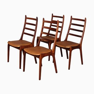 Dining Chairs from K. S. Møbler, Set of 4