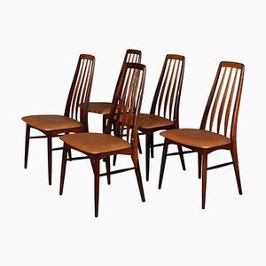 Model Eva Rosewood Dining Chair by Niels Koefoed, 1960s