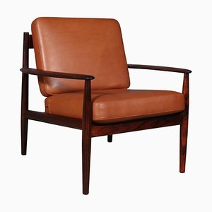 Lounge Chair in Rosewood by Grete Jalk