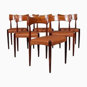 Esszimmerstühle von Bernhard Pedersen & Son, 6er Set