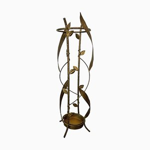 French Metal Umbrella Stand, 1950s