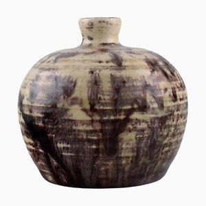 Vase aus glasierter Keramik von Pieter Groeneveldt