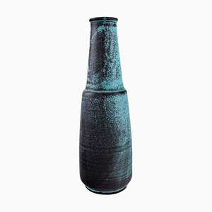 Große Vase aus glasierter Keramik von Nils Kähler für Kähler, 1960er