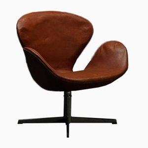 Sedia Swan di Arne Jacobsen per Fritz Hansen