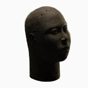 Benin Bronze Skulptur