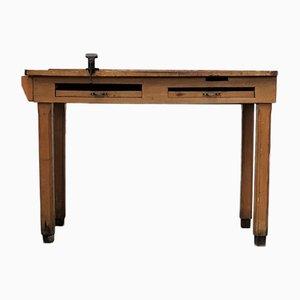 Mesa de joyería industrial vintage