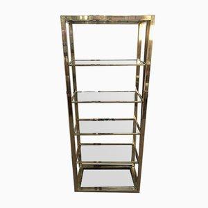 Brass and Glass Shelf