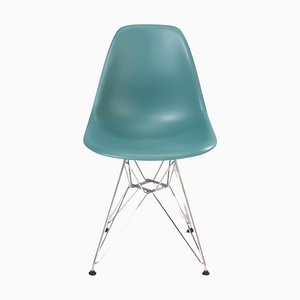 Dim Grey DSR Dining Chair by Charles & Ray Eames for Vitra