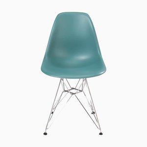 Dunkelgrauer DSR Esszimmerstuhl von Charles & Ray Eames für Vitra