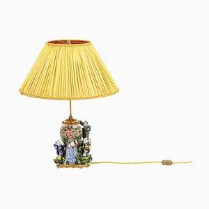 Lampe aus Porzellan von Samson, 1950er