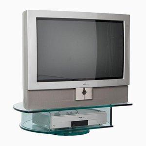 Meuble TV Loewe Systems Credo Centros HiFi en Verre