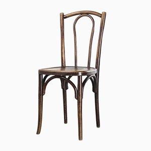 Luterma Dark Walnut Bentwood Chairs by Marcel Breuer, 1930s, Set of 4