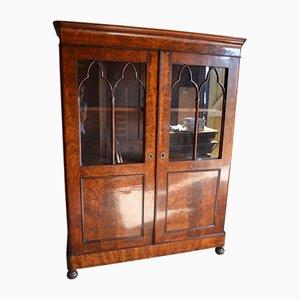 Antique Mahogany Gate Cupboard