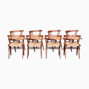 Chaises de Salle à Manger Grass par George Nakashima Studio, USA, 2021, Set de 8