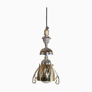 Gold & Silber L5 Lampe von Fletta