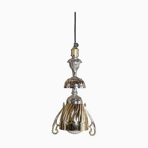 Lampe L5 Dorée et Argentée par Fletta