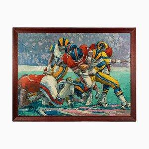 Amerikanischer Fußball Gemälde