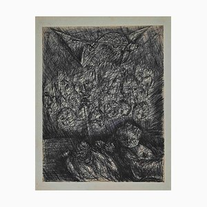 Maurice Walter Edmond De Lambert, Lucifer Mephistopheles, Disegno, 1900