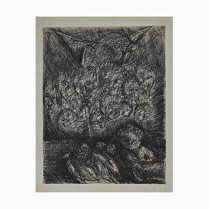 Maurice Walter Edmond De Lambert, Lucifer Mephistopheles, Drawing, 1900s