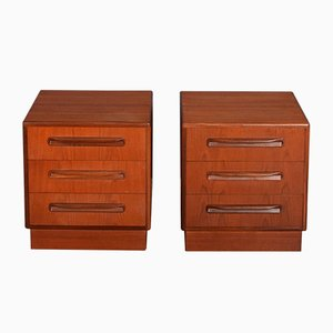 Bedside Chests by Victor Wilkins for G-Plan, 1960s, Set of 2