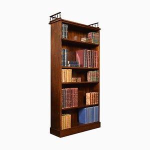 Offenes Mahagoni Bücherregal