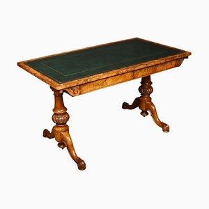 Table de Bibliothèque en Noyer, 19ème Siècle