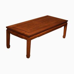 Chinese Hardwood Low Coffee Table