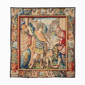 Early 17th Century Tapestry, Allegory of the Architect, Wool and Silk