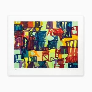 Small Abstract, Abstract Print, 2008