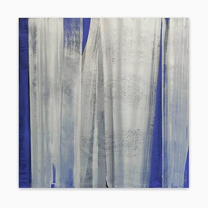 Blue View, Abstract Painting, 2015