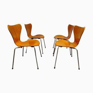 Chaise Butterfly 3107 par Arne Jacobsen pour Fritz Hansen