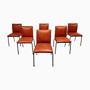 Vintage Robin Dining Chairs by Pierre Guariche Formeurop, 1960s, France, Set of 6