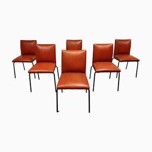 Vintage Robin Esszimmerstühle von Pierre Guariche Formeurop, 1960er, 6er Set