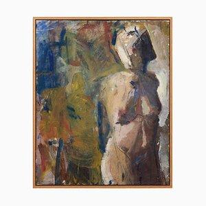 Mid-20th-Century Swedish School Portrait of a Nude