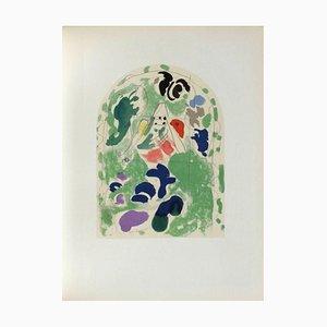 Jerusalem Windows, Issachar, Sketch, Marc Chagall