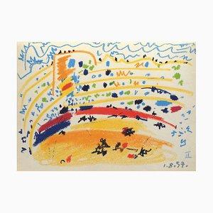 Toros y Toreros II after Pablo Picasso